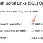 Smooth Scroll Links [SSL]:ページ内をスムーズにスクロールできるようにするプラグイン