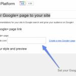 Google+のブログパーツ