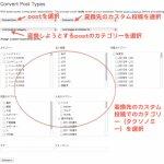 Convert Post Types:記事とカスタム投稿記事との変換プラグイン
