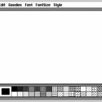 Mac paint がオンラインで復刻