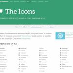 Awesome Fonts:様々なアイコンを表示することができるWebフォント