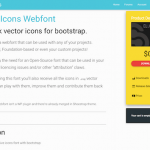 Elusive-Icons Webfont:様々なアイコンを表示することができるWebフォント