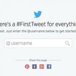 Discover your first Tweet:Twitterの最初の発言を調べる