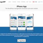 ManageWPのiPhoneアプリ