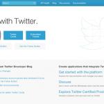 Twitterの新しい埋め込みバッジ