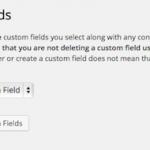 Delete Custom Fields:不用なカスタムフィールドを削除することが出来るプラグイン