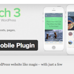WPtouchが3にバージョンアップしてテーマデザインが変わった