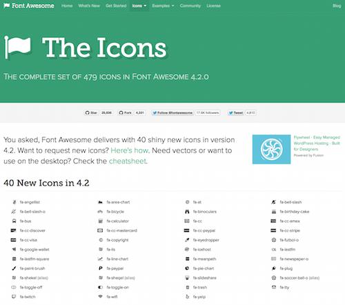 awesome-web-fonts